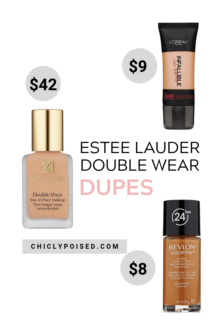 Estee Lauder Double Wear Foundation Dupe 1 of 2
