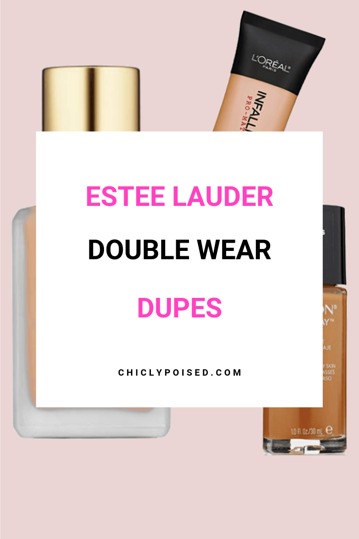 Estee Lauder Double Wear Foundation Dupes-4