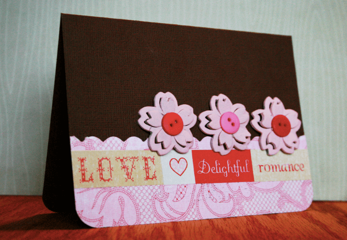 Romantic Valentine's Day Cards DIY
