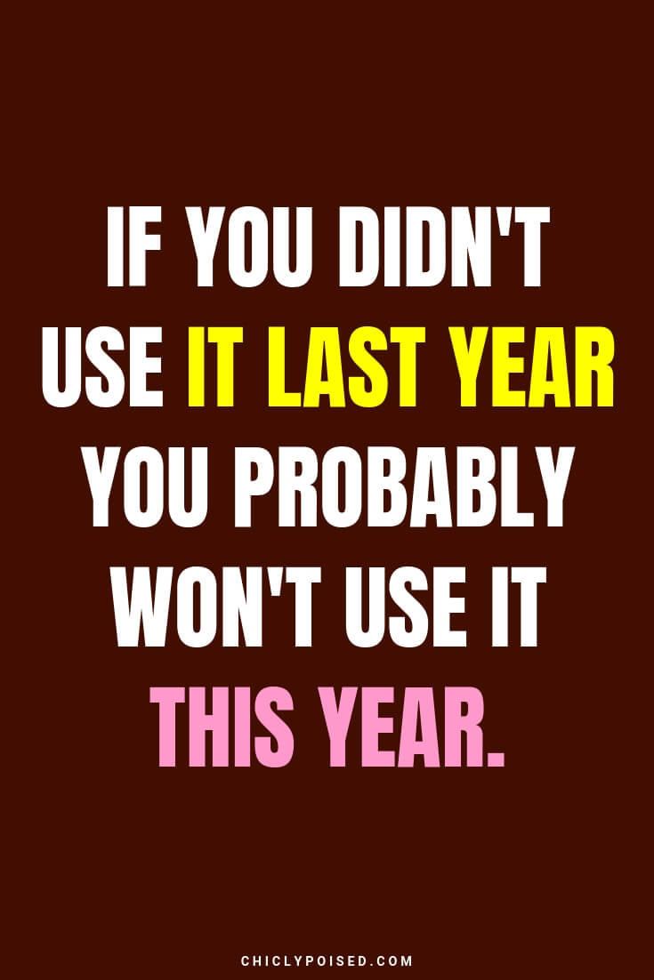 If you didn't use it last year you probably won't use it this year
