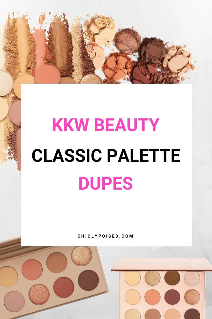 KKW Beauty Classic Palette Dupes Review