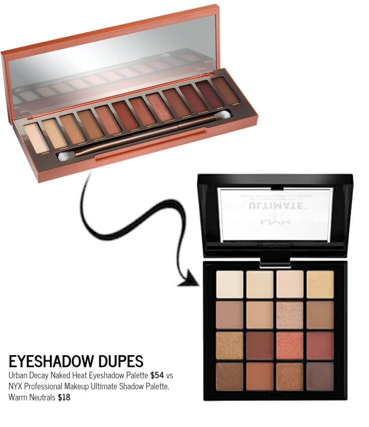 NYX Ultimate Shadow Palette, Warm Neutrals Dupe Urban Decay Naked Eyeshadow Palette.jpg