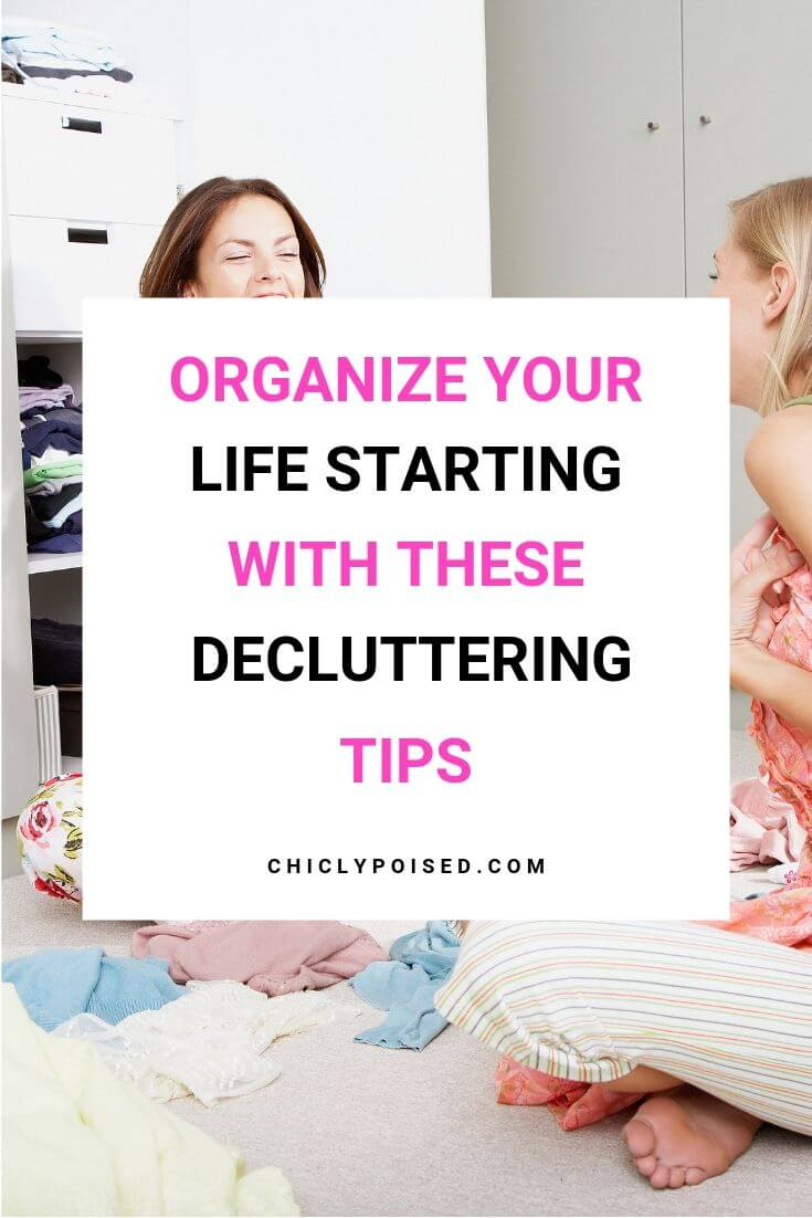 Organize Your Life Starting With These Decluttering Tips 1 of 5