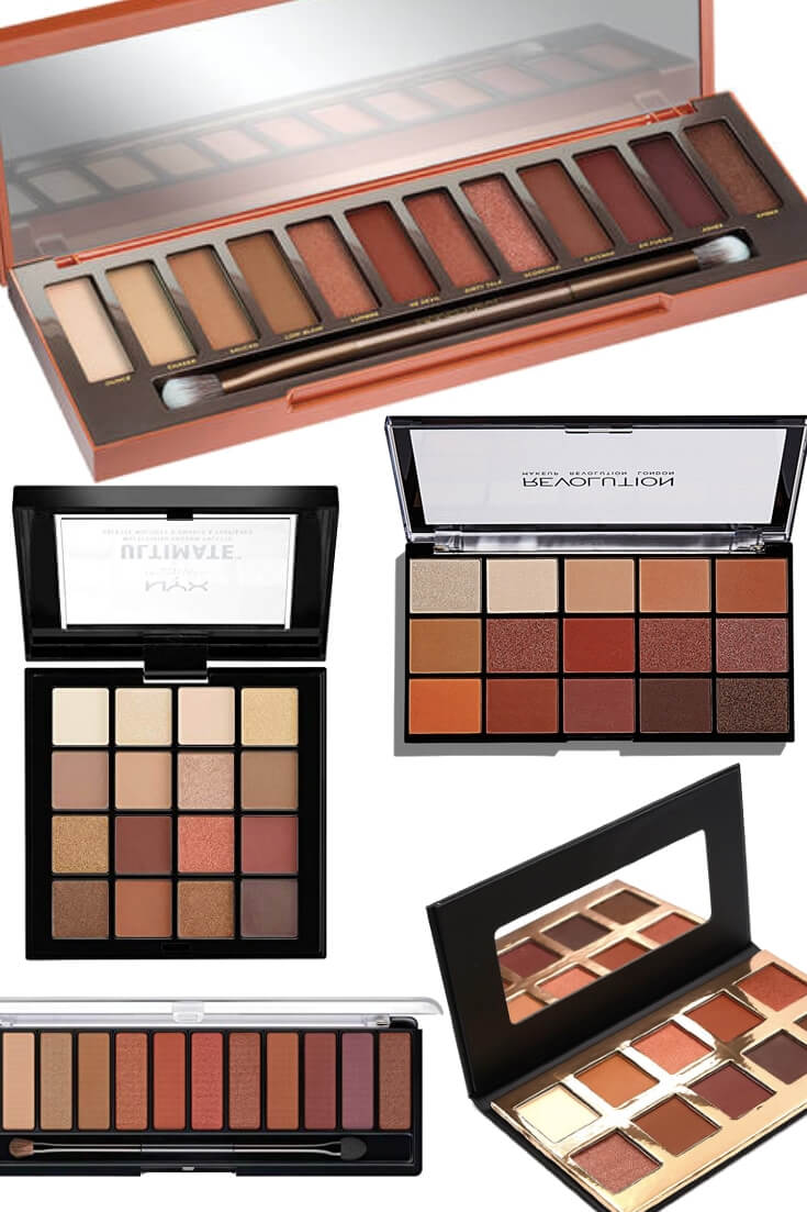 Palettes Similar To The Urban Decay Naked Heat Palette