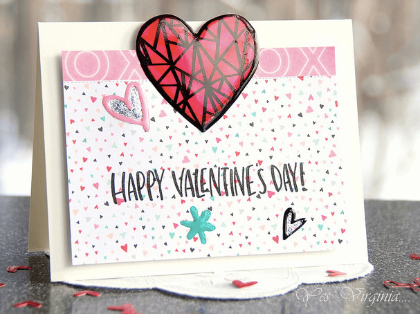 Romantic Valentine's Day Cards DIY - 12