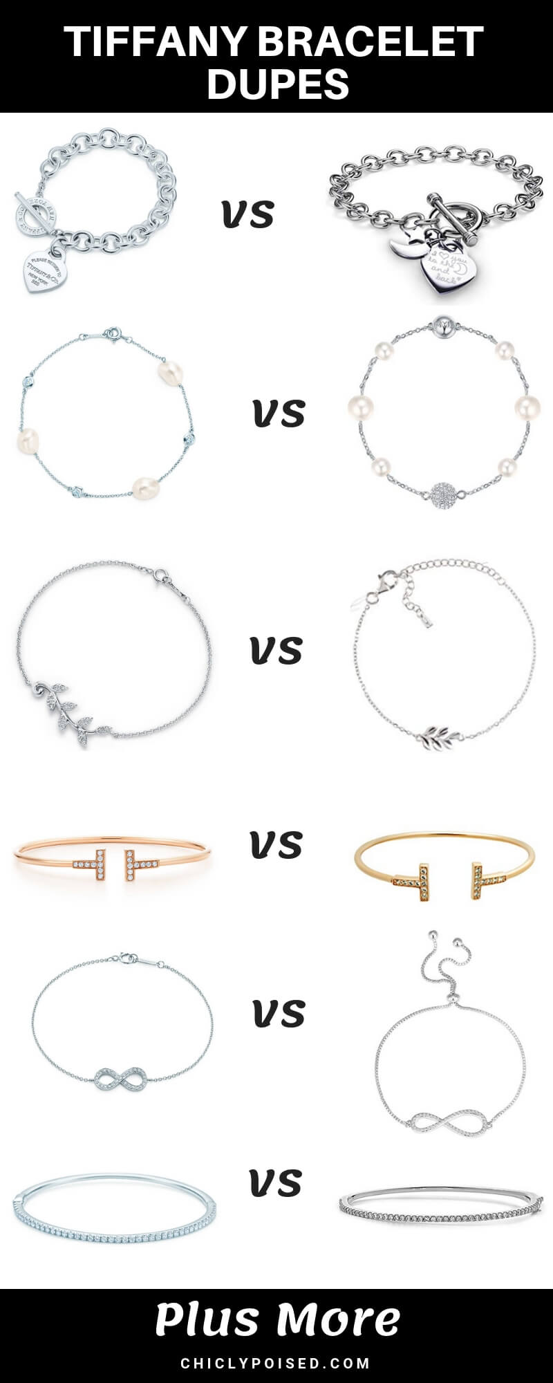 Tiffany Bracelet Dupes You Need In Your Life For A Little More Fun