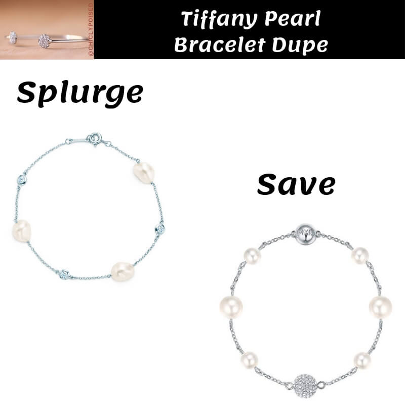 Tiffany Pearl Bracelet Dupe