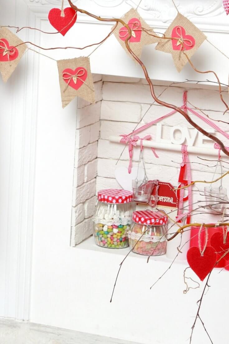 Valentine's Day Home Decor Ideas For February