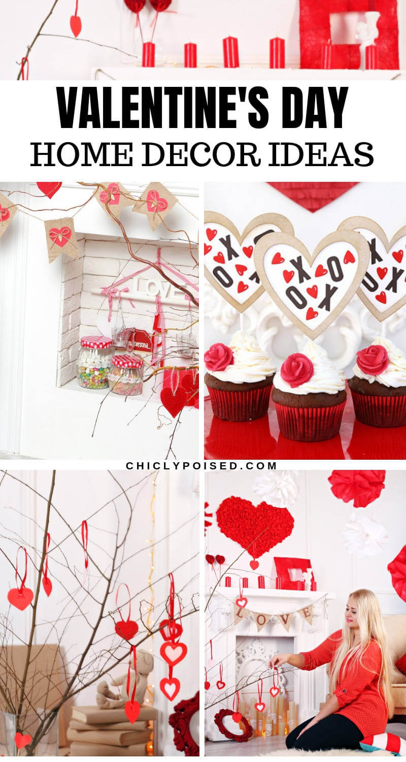 Valentine's Day Home Decor Ideas For This Valentine's