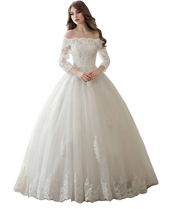 Wedding Ball Gown Under $200-10