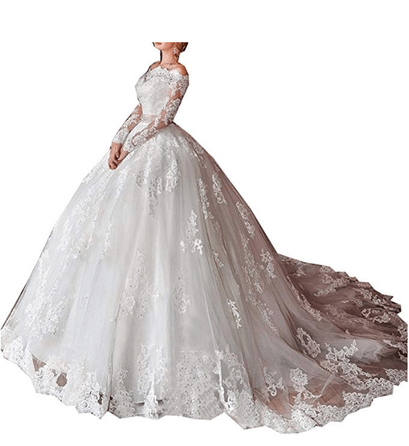 Wedding Ball Gown Under $200-11