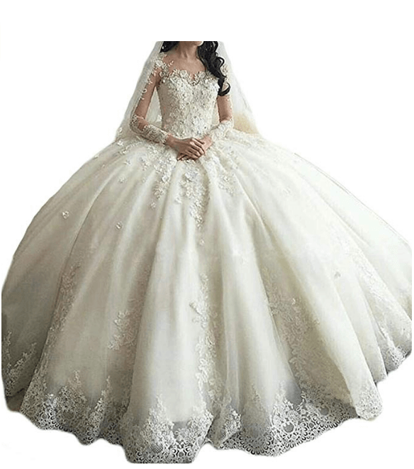 Wedding Ball Gown Under $200-12