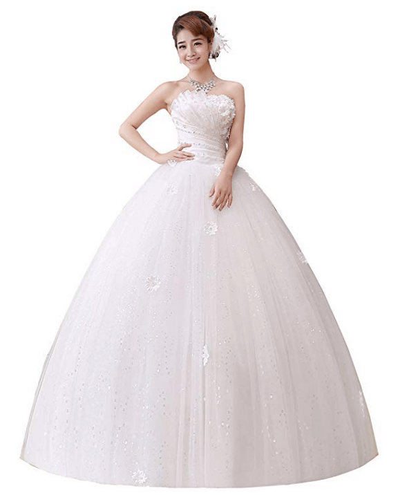 Wedding Ball Gown Under $200-22