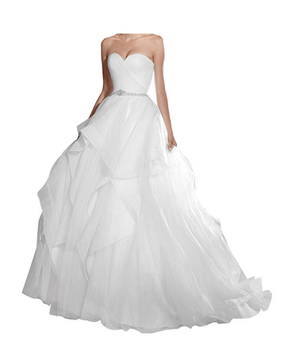 Wedding Ball Gown Under $200-6