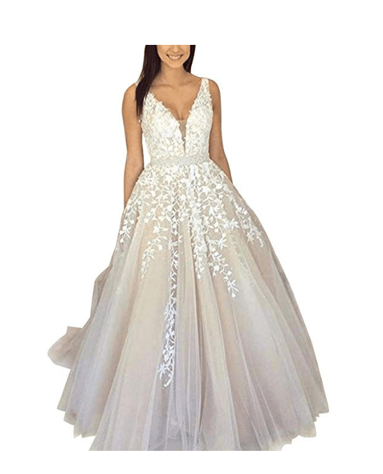 Wedding Ball Gown Under $200-7