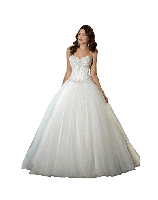 Wedding Ball Gown Under $200-8
