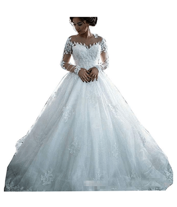 Wedding Ball Gown Under $200-9