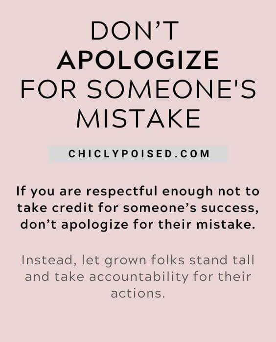 Don't Apologize 6 of 20
