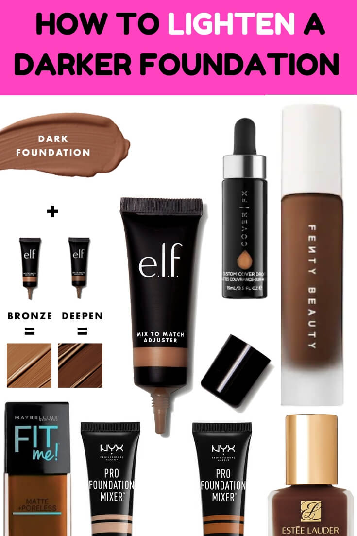 Lighten Darker WOC Foundations