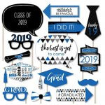 2019 Paper Card Stock Graduation Party Photo Booth Prop
