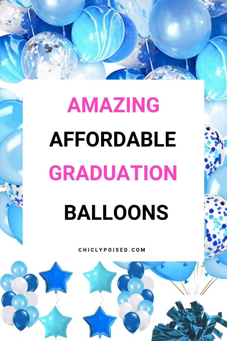 Affordable Graduation Decor Balloons