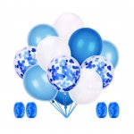 Blue Latex Balloons Party Decorative Balloons