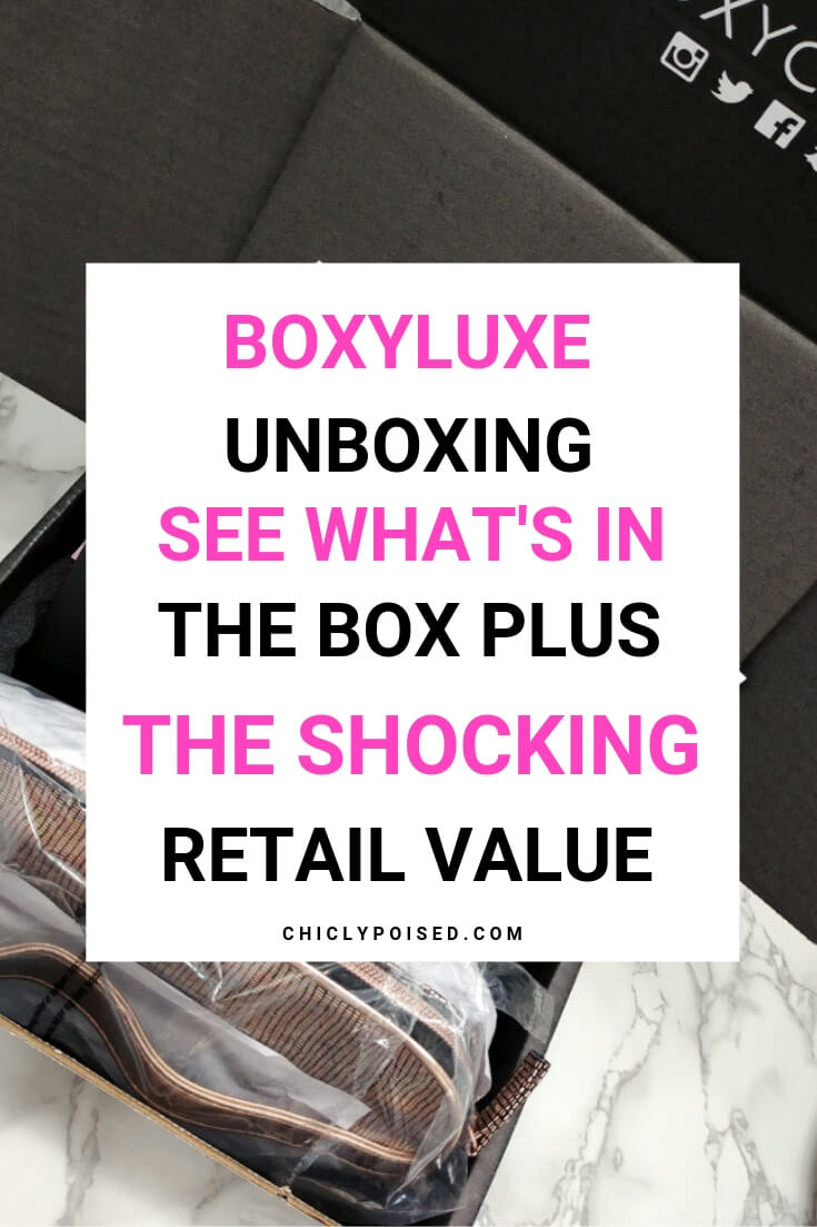 BoxyLuxe Unboxing Shocking Retail Value