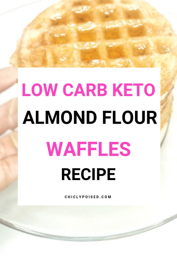 Delicious Low Carb Keto Almond Flour Waffles Recipe-5