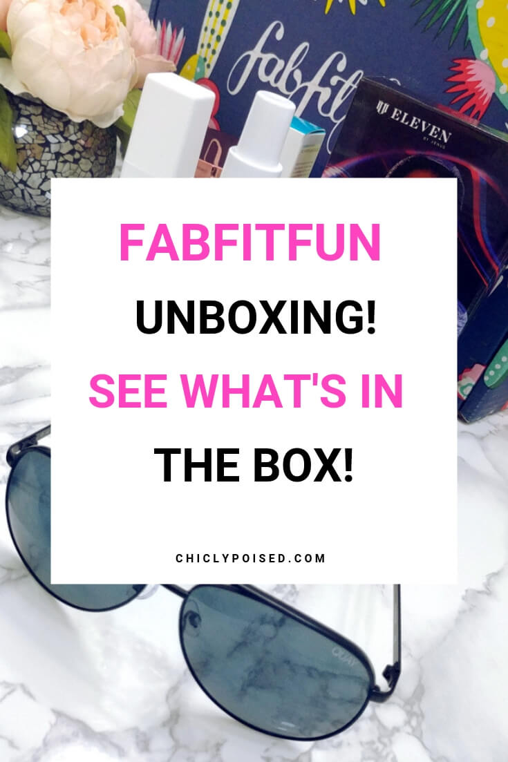 Fabfitfun Unboxing See what's in the box! Plus Major Savings!