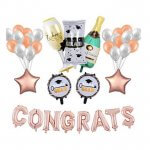 Graduation Congrats Letter Balloon Banner