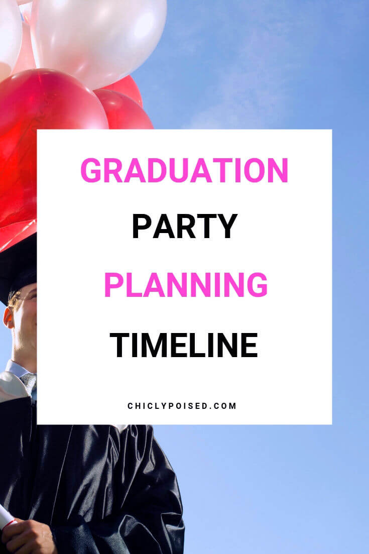 Graduation Party Planning Timeline