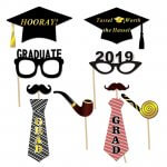 Graduation Photo Booth Props Graduation Photo Props with Sticks and Stickers
