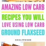 Low Carb Ground FlaxSeed Recipes-5