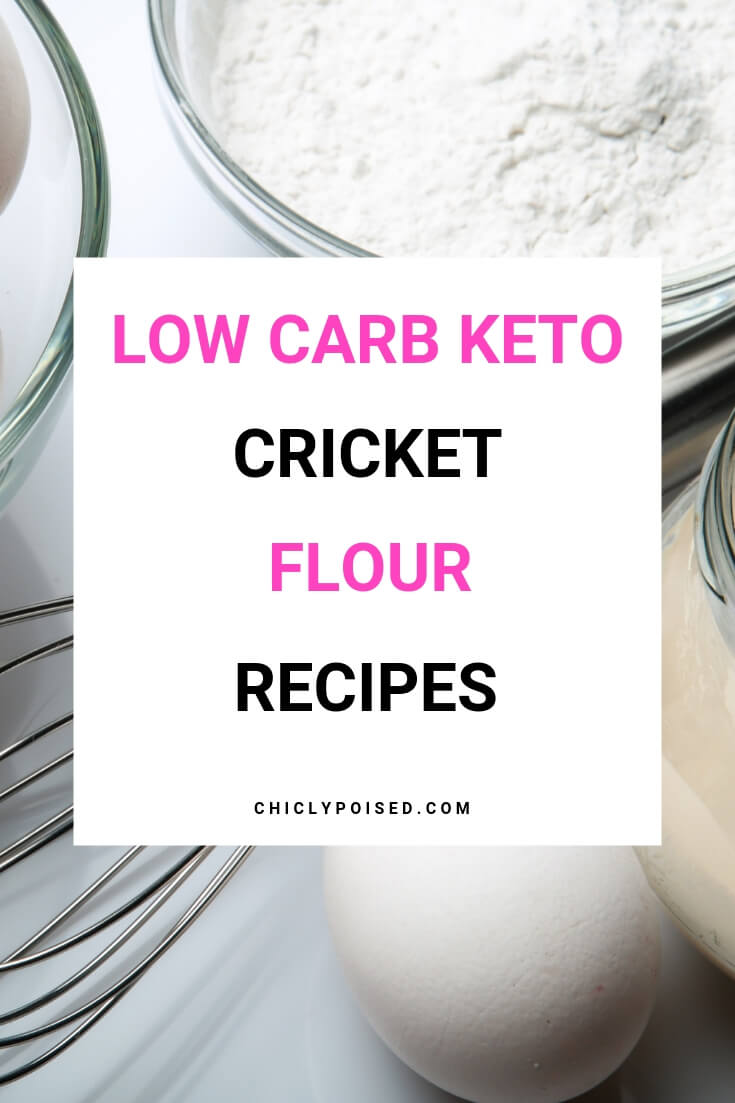 Low Carb Keto Cricket Flour Recipes-1