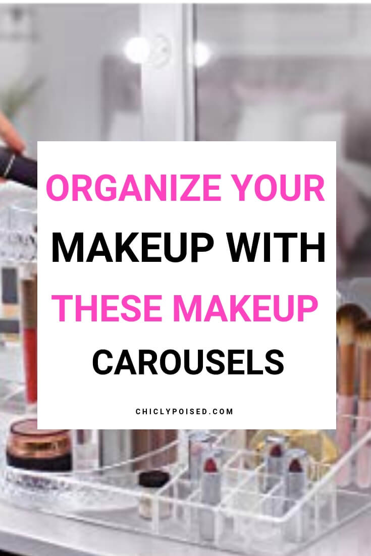 Makeup Carousels Neatly Organizes Your Makeup Quick