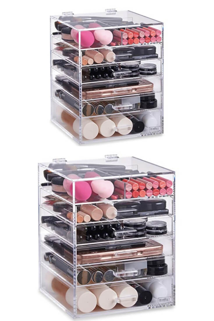 Makeup Storage Unit 12