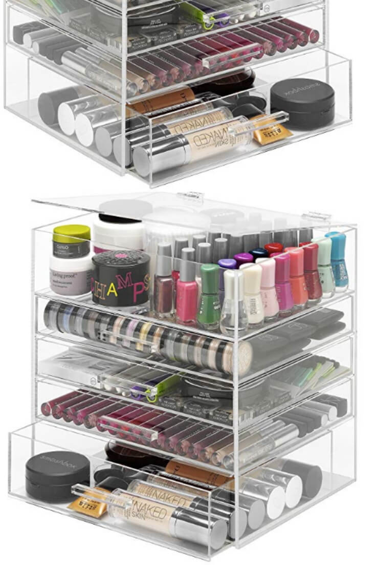Makeup Storage Unit 9