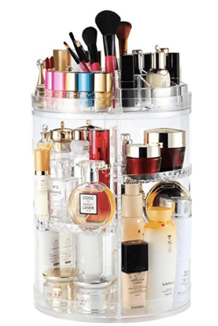 Matte Clear Makeup Carousel