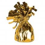 Metallic Wrapped Balloon Weights