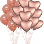Rose Gold Balloons Decorations Kit