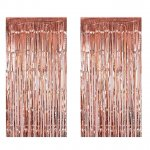 Rose Gold Photo Booth Props Backdrops Decorations