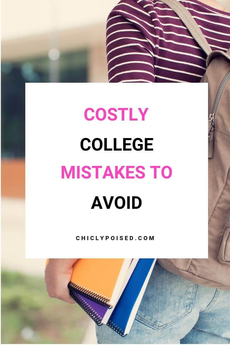 Costly College Mistakes To Avoid 1 of 1
