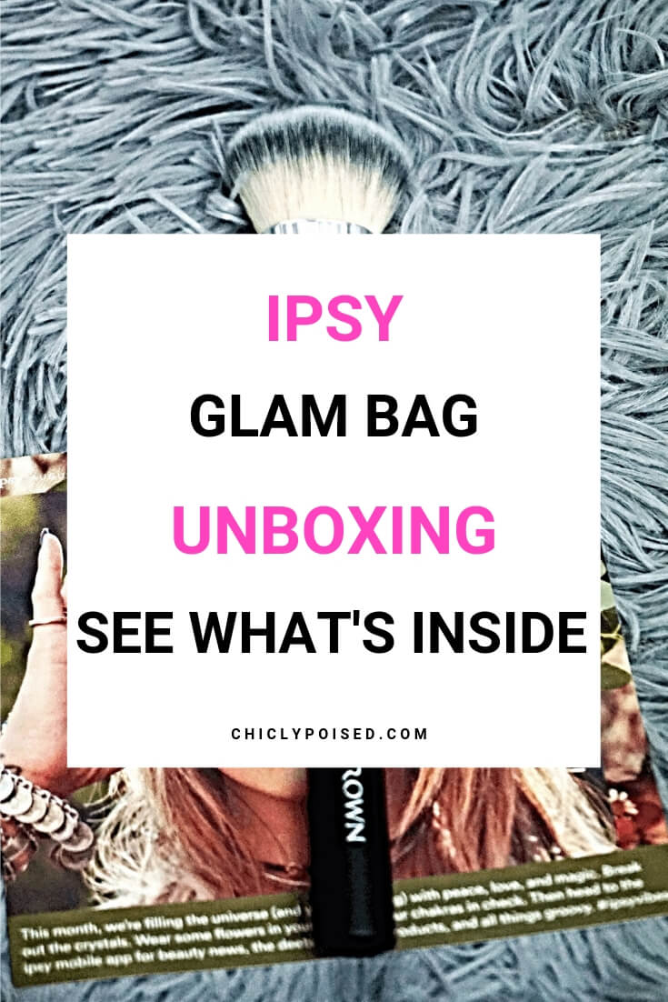 Ipsy Glam Bag Unboxing! See What's Inside The Bags!-2