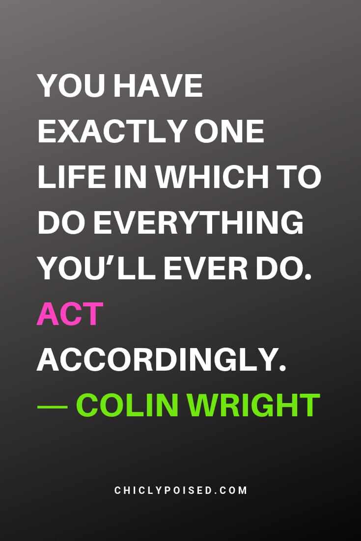 Acting Quotes To Inspire You | Chiclypoised