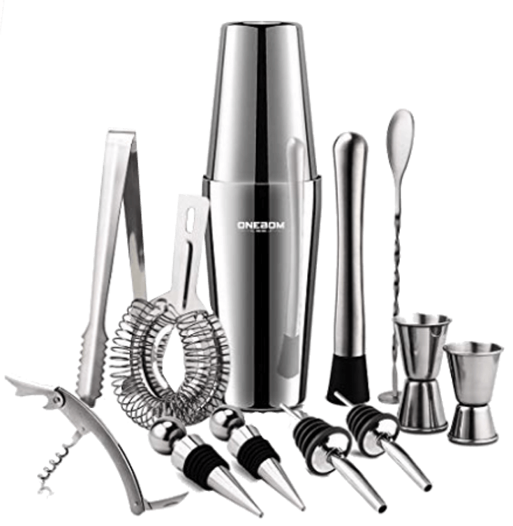 Nice Cocktail Shaker Set For Mixing Drinks