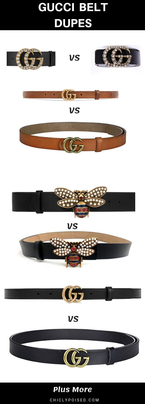 The Ultimate Gucci Belt Dupe List