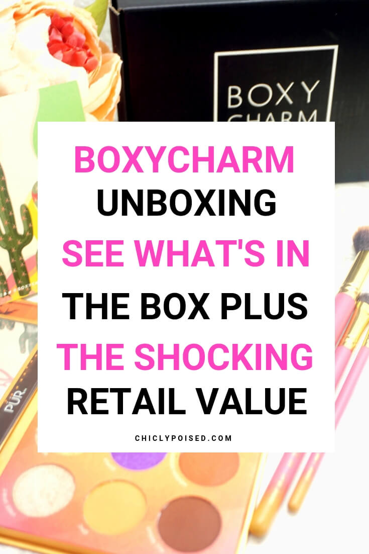 BoxyCharm Unboxing! See What's In The Box! Plus The Shocking Retail Value-1