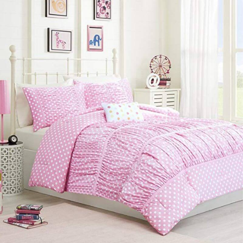College-Apartment-Cozy-Comforter-Set-Pink-2