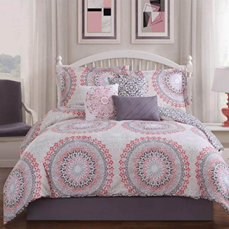College-Apartment-Cozy-Comforter-Set-Pink-3