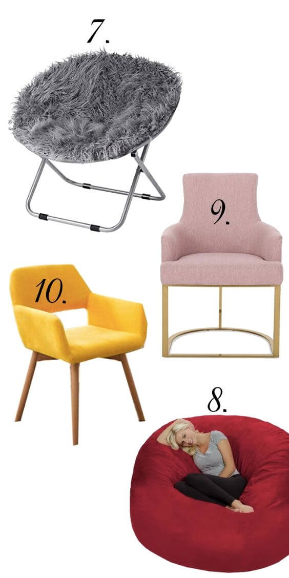 Stylish Dorm Room Chairs-1